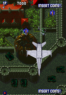Aero Fighters (Taiwan / Japan, set 1) Screenshot