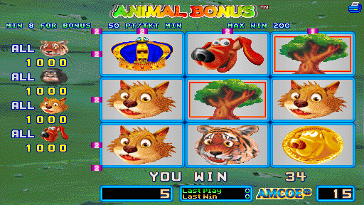 Animal Bonus (Version 1.8LT Dual) Screenshot