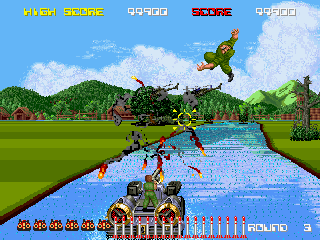 Aqua Jack (Japan) Screenshot