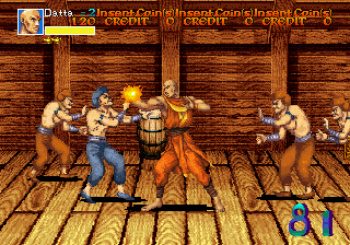 Arabian Fight (US) Screenshot