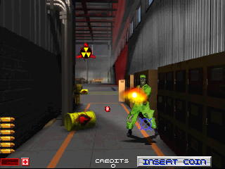 Area 51 (Atari Games license, Oct 25, 1995) Screenshot