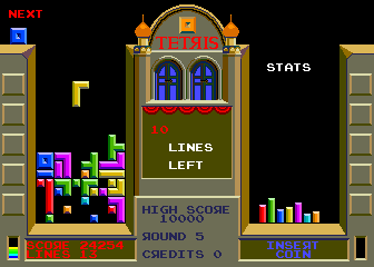 Tetris (set 1) Screenshot