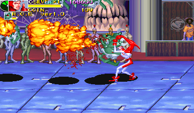 Battle Circuit (Euro 970319 Phoenix Edition) (bootleg) Screenshot