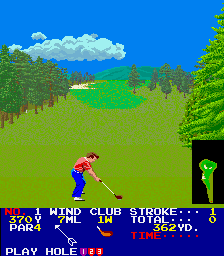 Big Event Golf (US) Screenshot
