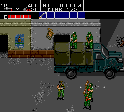 Bloody Wolf (US) Screenshot