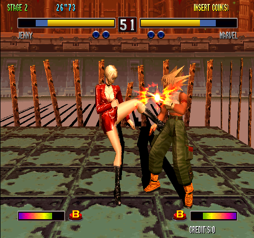 Bloody Roar 2 (World) Screenshot
