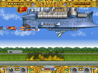 Boogie Wings (Euro v1.5, 92.12.07) Screenshot