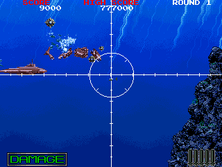 Battle Shark (World) Screenshot