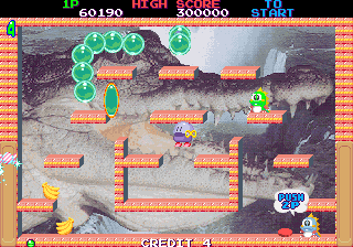 Bubble Memories: The Story Of Bubble Bobble III (Ver 2.3J 1996/02/07) Screenshot