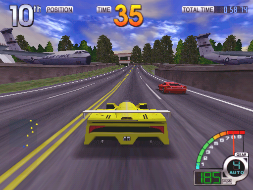 California Speed (Version 2.1a Apr 17 1998, GUTS 1.25 Apr 17 1998 / MAIN Apr 17 1998) Screenshot