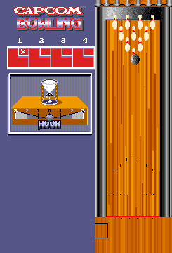 Capcom Bowling (set 2) Screenshot