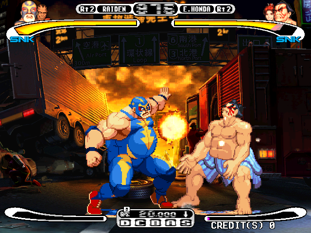 Capcom Vs. SNK Millennium Fight 2000 (Rev C) Screenshot