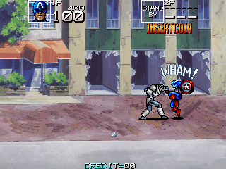 Captain America and The Avengers (UK Rev 1.4) Screenshot