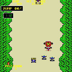 Bump 'n' Jump (DECO Cassette) (US) Screenshot