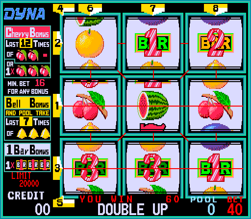 Cherry Master I (ver.1.01, set 2) Screenshot