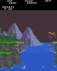 Contra (US / Asia, set 2) Screenshot
