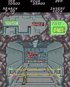 Contra (Japan, set 1) Screenshot