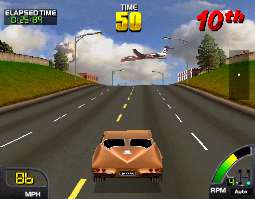 Cruis'n USA (rev L4.0) Screenshot