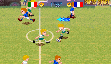 Capcom Sports Club (Euro 971017) Screenshot