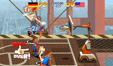 Capcom Sports Club (Euro 970722 Phoenix Edition) (bootleg) Screenshot