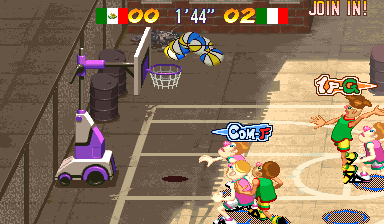 Capcom Sports Club (Hispanic 970722) Screenshot