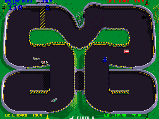 Championship Sprint (French) Screenshot