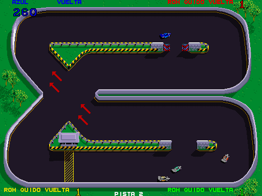 Championship Sprint (Spanish, rev 1) Screenshot