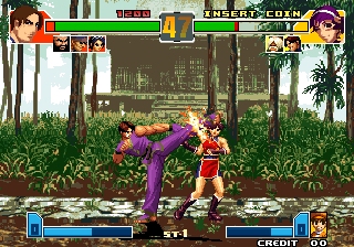 Crouching Tiger Hidden Dragon 2003 Super Plus (The King of Fighters 2001 Bootleg) Screenshot