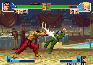 Crouching Tiger Hidden Dragon 2003 (The King of Fighters 2001 bootleg) Screenshot