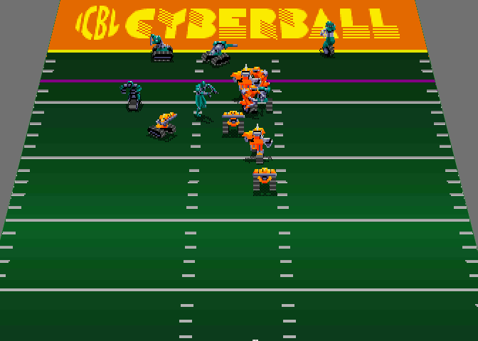 Cyberball 2072 (2 player, rev 3) Screenshot