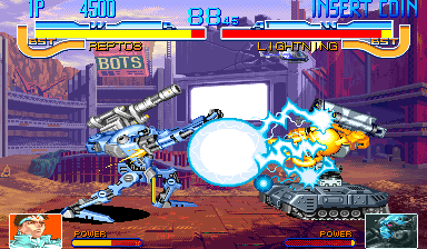 Cyberbots: Fullmetal Madness (Japan 950420) Screenshot