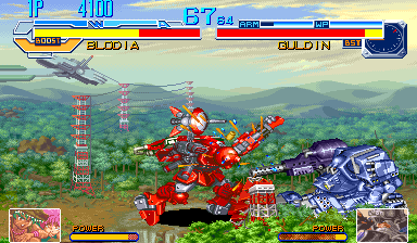 Cyberbots: Fullmetal Madness (USA 950424) Screenshot