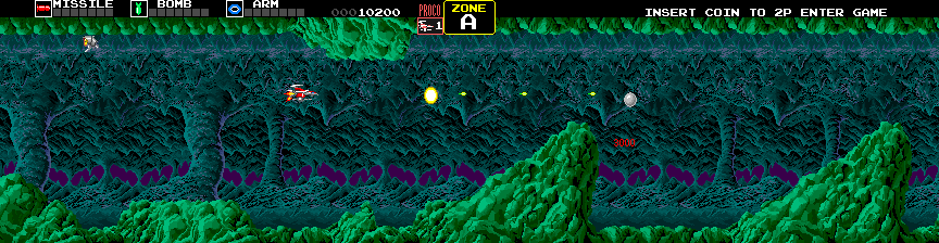 Darius Extra Version (Japan) Screenshot