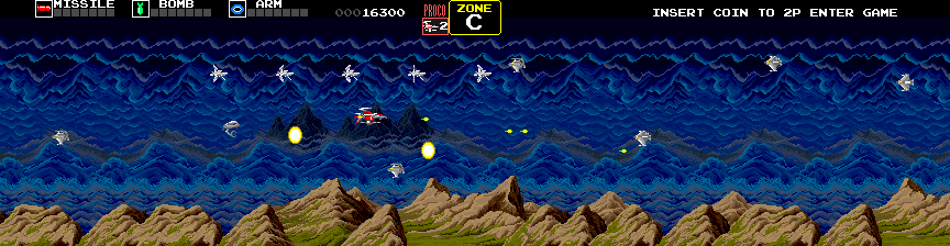 Darius (Japan) Screenshot