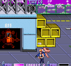 Double Dragon II - The Revenge (World) Screenshot