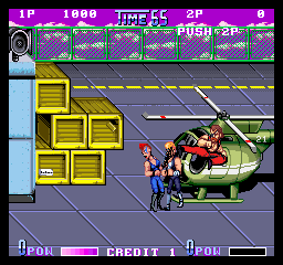 Double Dragon II - The Revenge (US) Screenshot