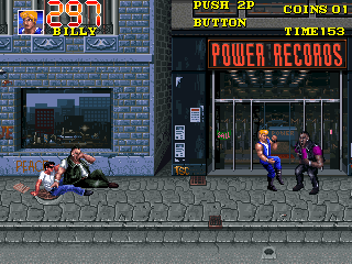 Double Dragon 3 - The Rosetta Stone (bootleg) Screenshot