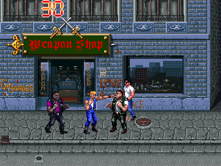 Double Dragon 3 - The Rosetta Stone (prototype) Screenshot