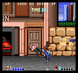 Double Dragon (bootleg) Screenshot
