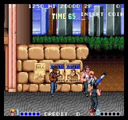 Double Dragon (US set 1) Screenshot