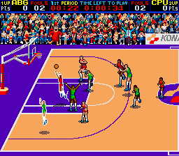 Double Dribble (prototype?) Screenshot