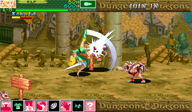 Dungeons & Dragons: Shadow over Mystara (Hispanic 960223) Screenshot