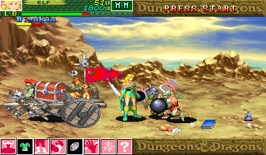 Dungeons & Dragons: Shadow over Mystara (Japan 960206) Screenshot