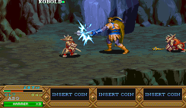 Dungeons & Dragons: Tower of Doom (Asia 940412) Screenshot