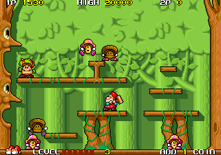 Don Doko Don (US) Screenshot