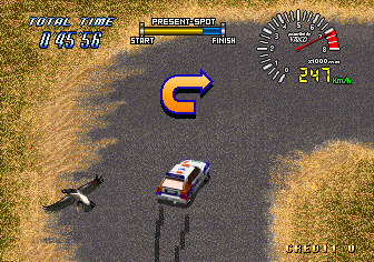 Drift Out '94 - The Hard Order (Japan) Screenshot