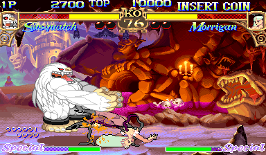 Darkstalkers: The Night Warriors (Hispanic 940818) Screenshot