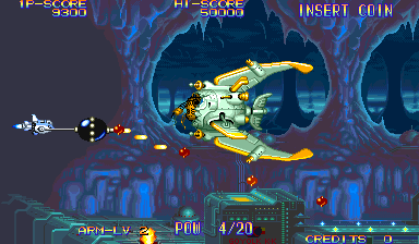 Eco Fighters (World 931203 Phoenix Edition) (bootleg) Screenshot