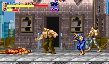 Final Fight (World) Screenshot