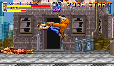 Final Fight (Japan) Screenshot